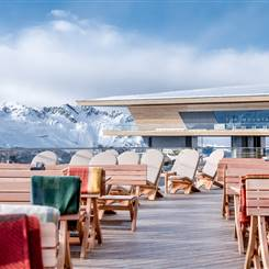 Top Mountain Crosspoint mit Terrasse im Winter